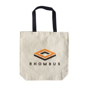 "7 Oz. Lightweight Canvas Tote Bag (13 1/2""x13 1/2""x3"")"